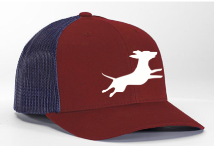 Firecracker Wiener National Maroon/Navy Hat