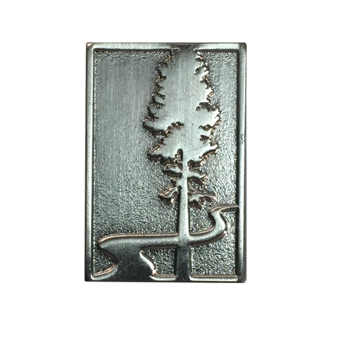 "Oregon State Parks Foundation Logo 1"" Enamel Pin"