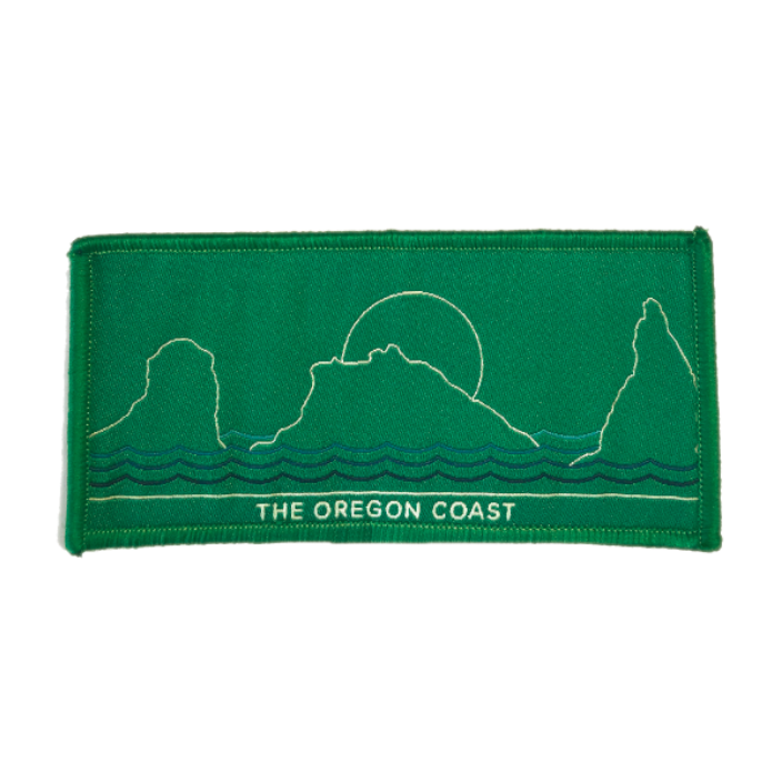 The Oregon Coast, South Coast Iron-on Patch