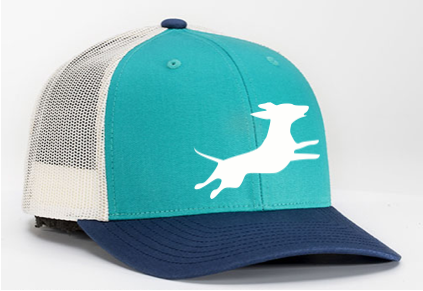 Firecracker Wiener National Teal/Blue Hat