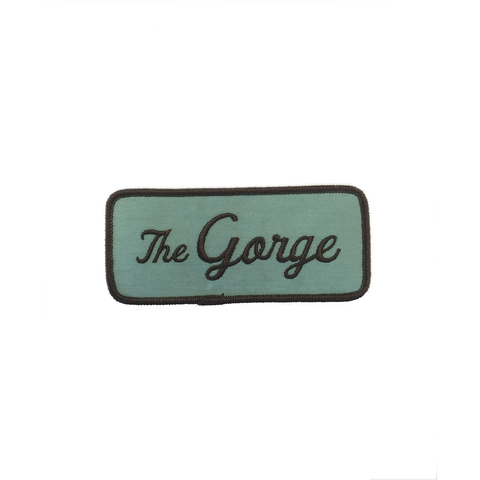 """The Gorge"" 4"" Iron-on Patch"