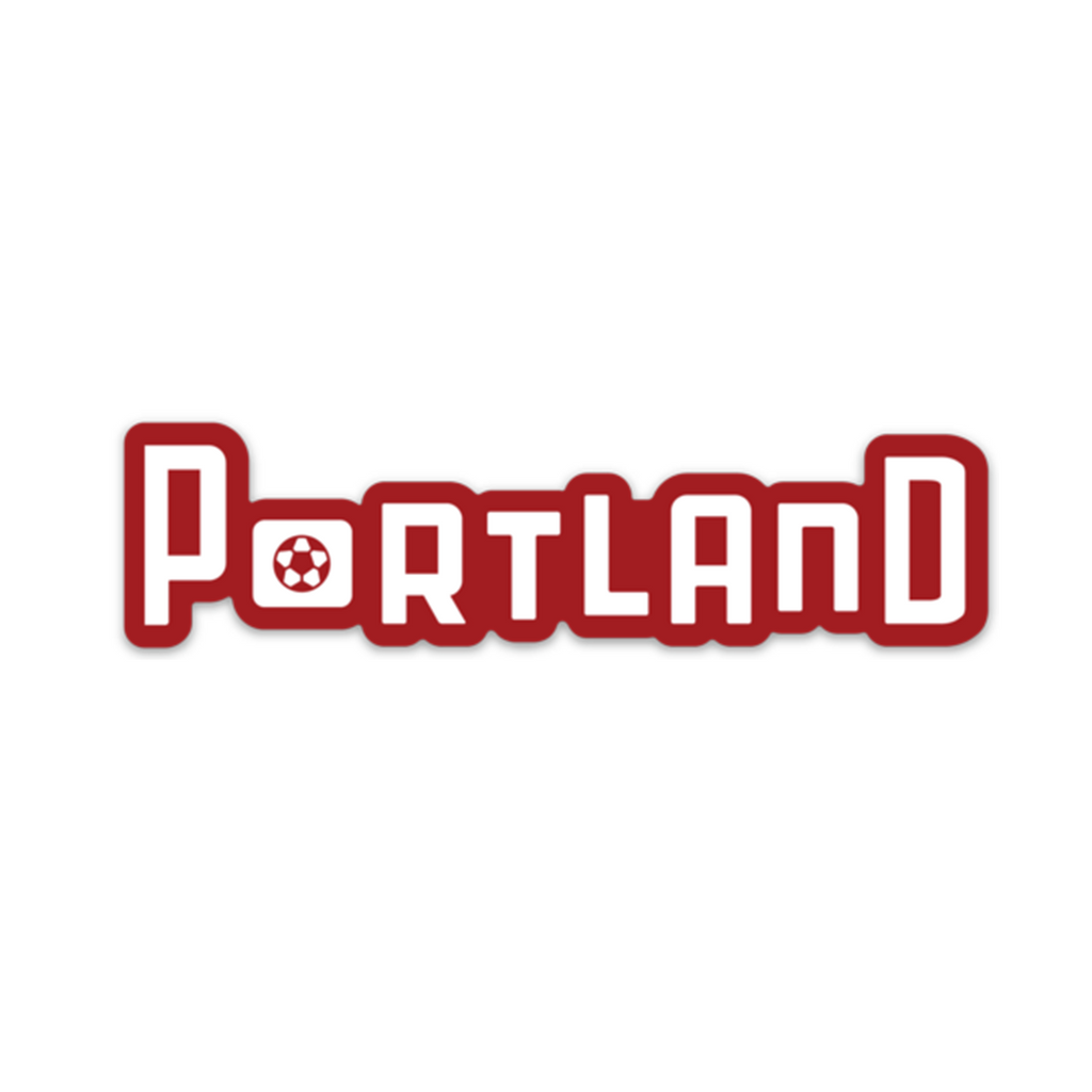 "Portland Skyline ""Thorns"" Weatherproof Vinyl Sticker"