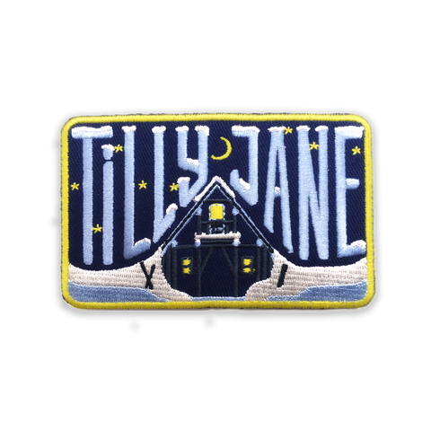 Tilly Jane A-Frame Iron-on Patch