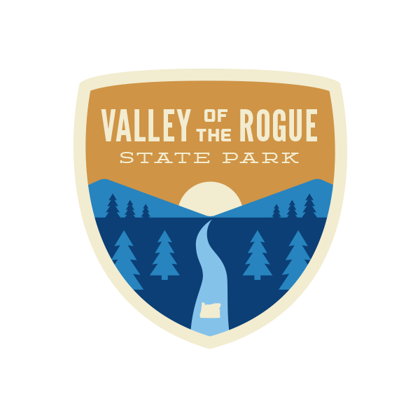 Valley of the Rogue State Park Sticker