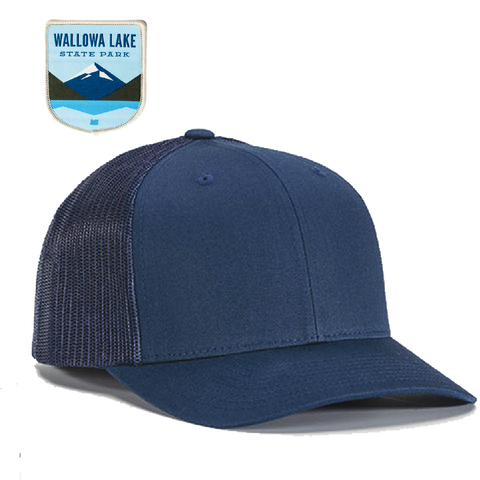 Wallowa Lake State Park Customized Trucker Hat
