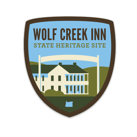 Wolf Creek Inn State Heritage Site Sticker