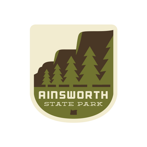 Ainsworth State Park Sticker