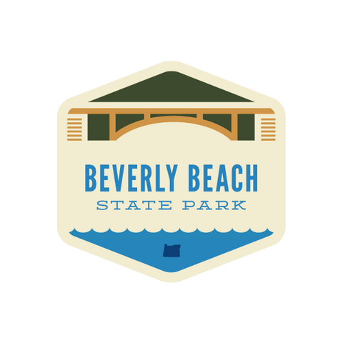 Beverly Beach State Park Sticker