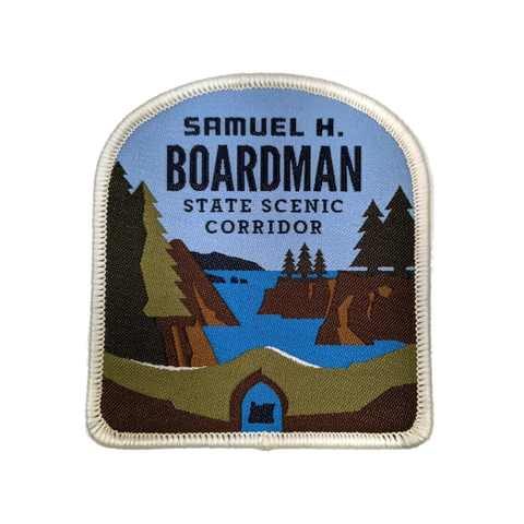 "Samuel H Boardman State Scenic Cooridor 3"" Iron-on Patch"