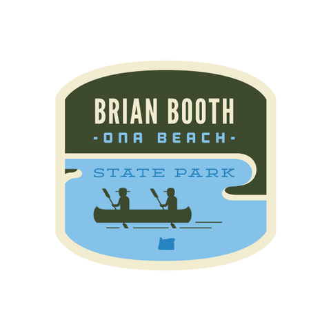 Brian Booth State Park Sticker