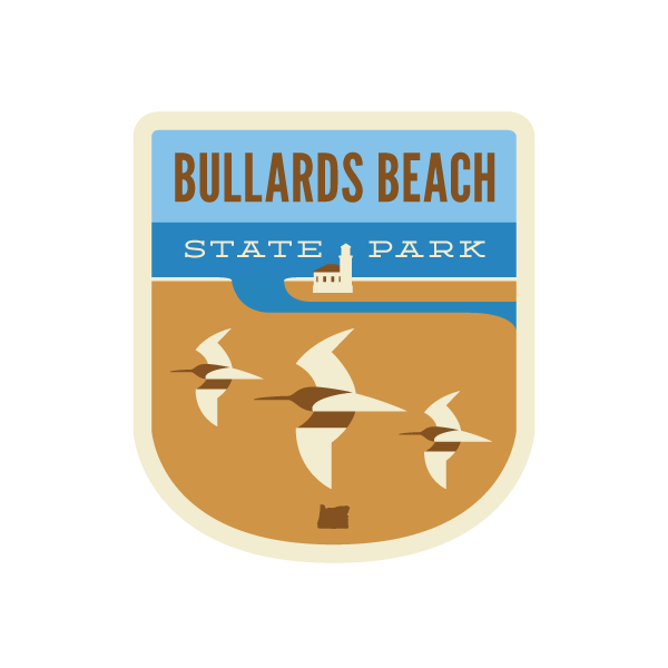 Bullards Beach State Park Sticker