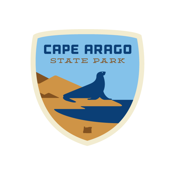 Cape Arago State Park Sticker