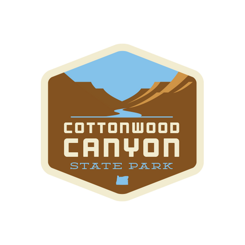 Cottonwood Canyon State Park Sticker