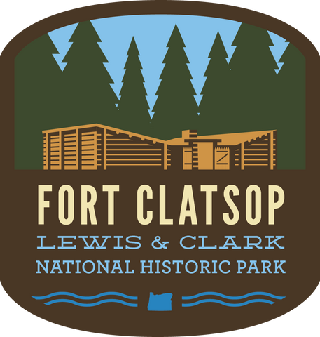 Fort Clatsop at Lewis & Clark NH Park Sticker