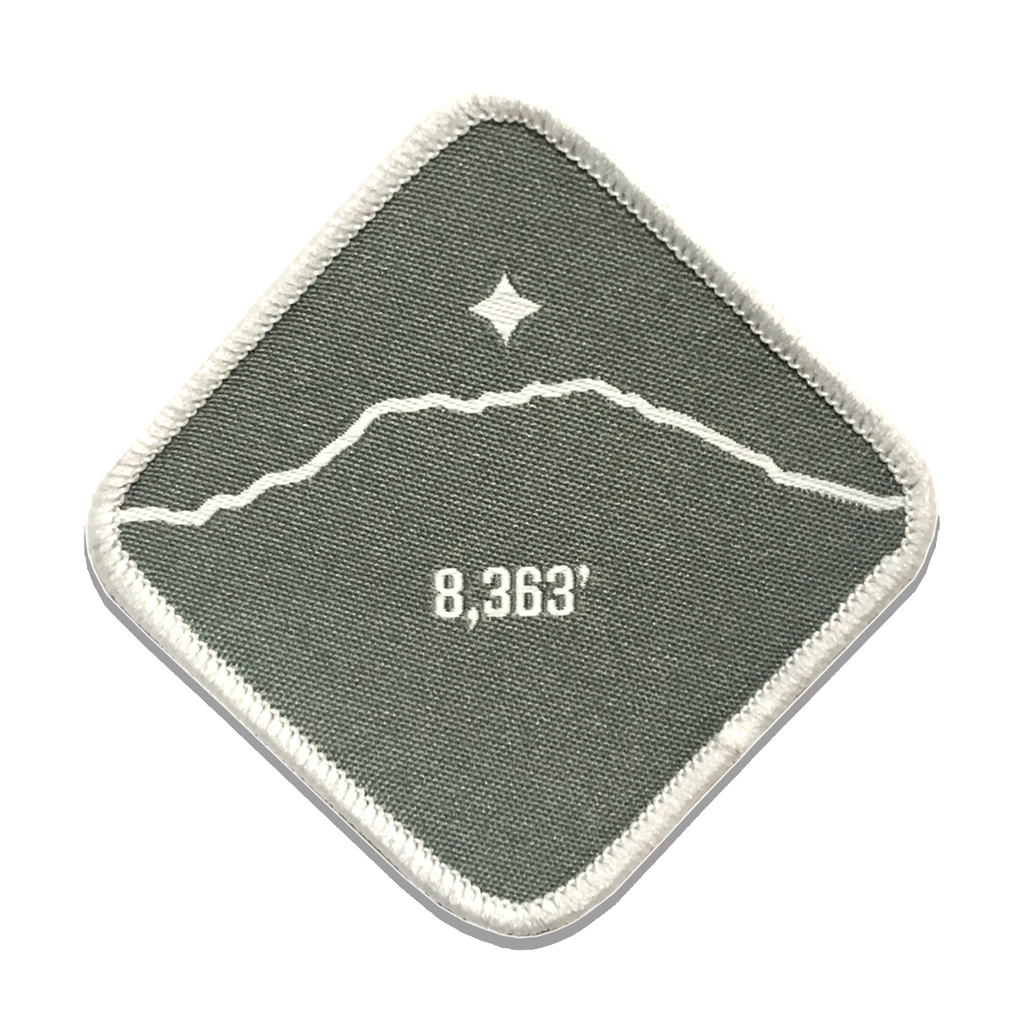 Mt. Saint Helens - Cascade Summit Series - Iron-on Patch