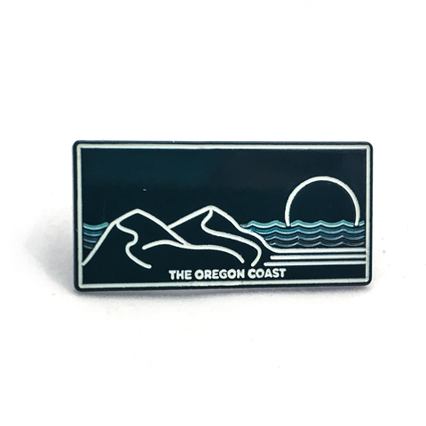 Central Coast Enamel Pin