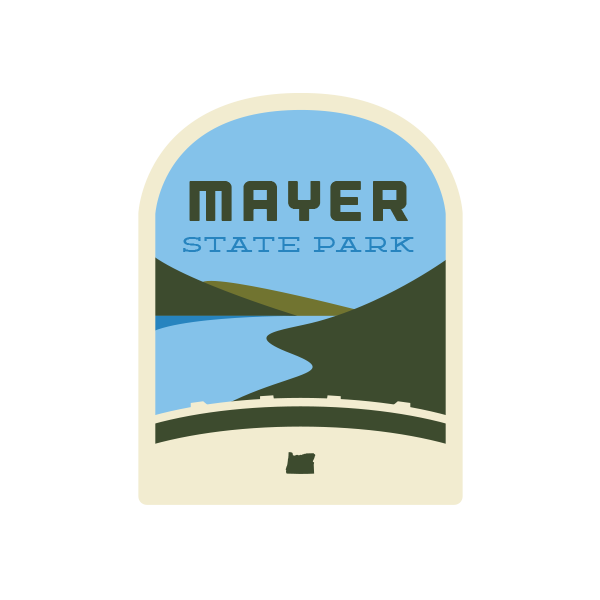 Mayer State Park Sticker