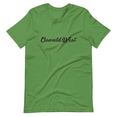 Oswald West - Script T-Shirt