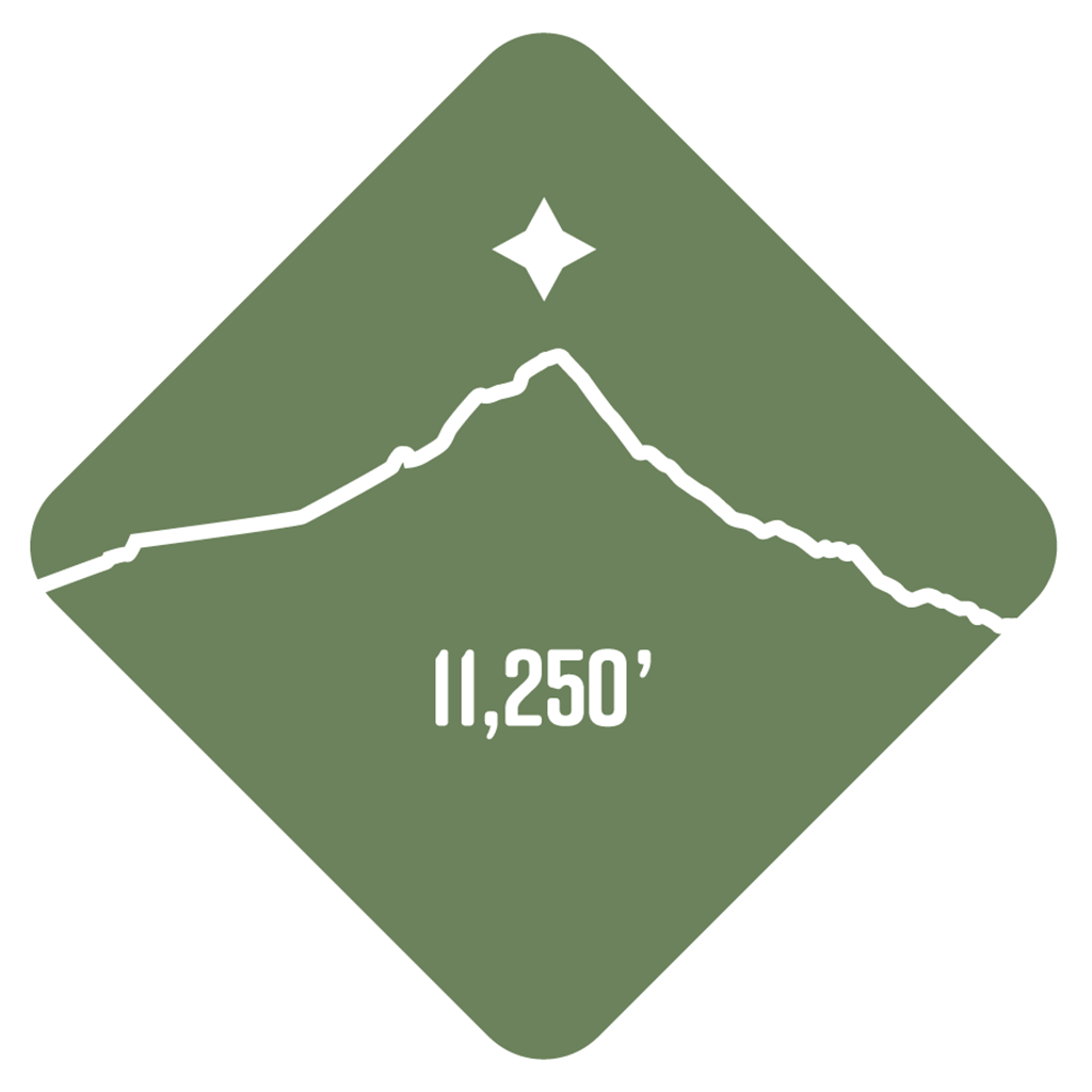 Mt. Hood - Cascade Range Summit Series Weatherproof Sticker