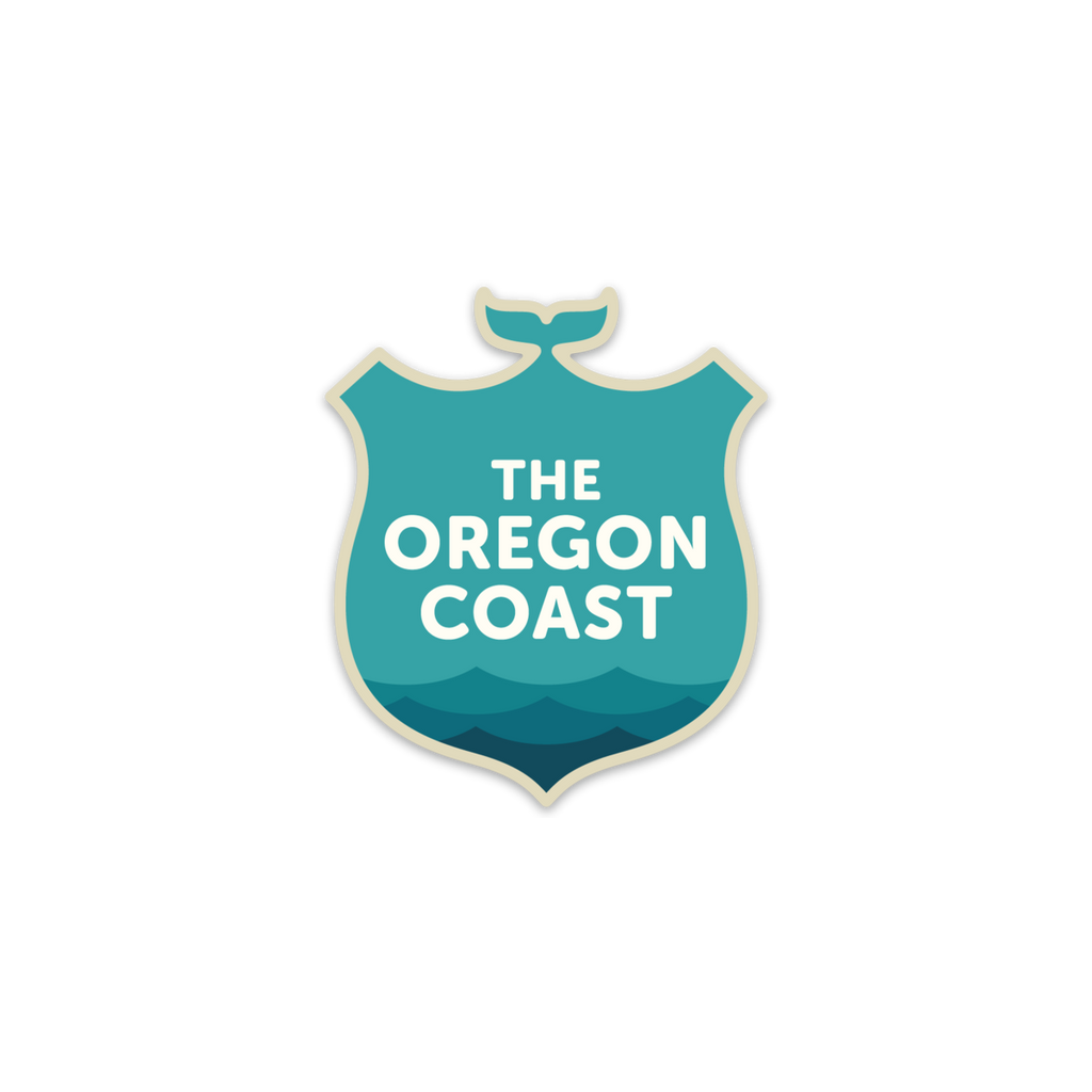 The Oregon Coast, Official Logo Sticker
