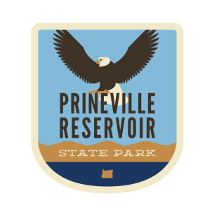 "Prineville Reservoir State Park ""Eagle"" Sticker"