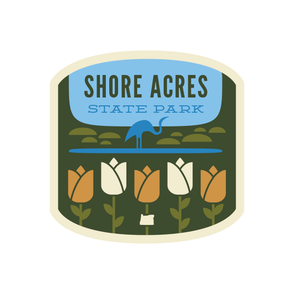 Shore Acres State Park Sticker