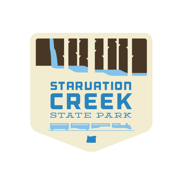 Starvation Creek State Park Sticker