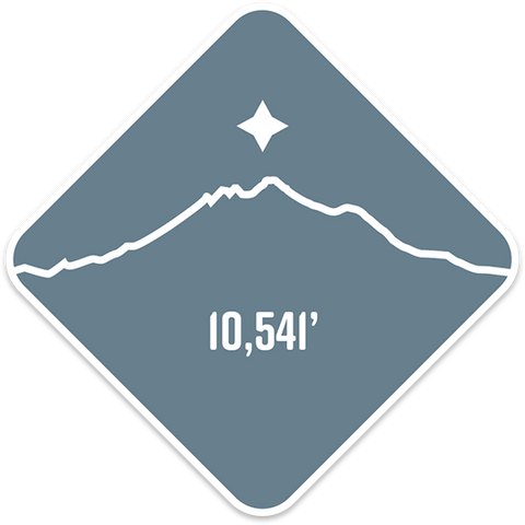 Glacier Peak - Cascade Range Summit Series Weatherproof Sticker