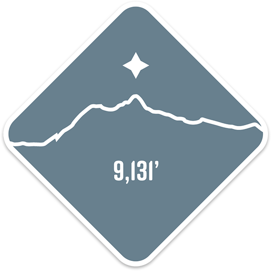 Mt. Shuksan - Cascade Range Summit Series Weatherproof Sticker