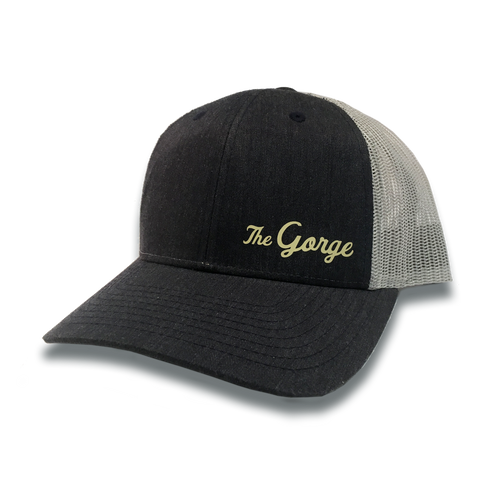 The Gorge, Navy/Grey Retro Trucker Snapback Hat
