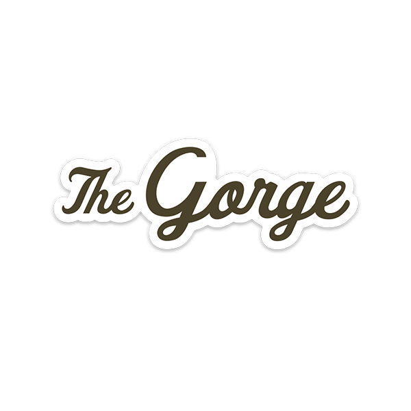 """The Gorge"" 5in Vinyl Weatherproof Sticker"