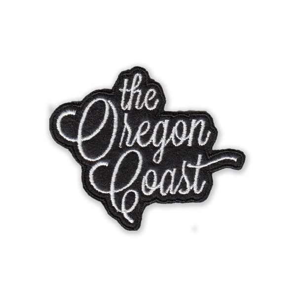 "The Oregon Coast 2.25"" Iron-on Felt Patch"