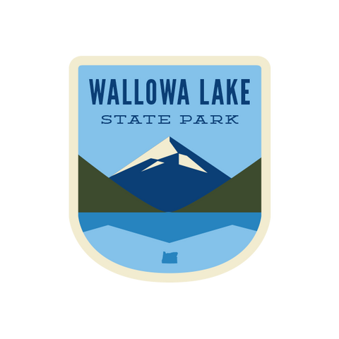 Wallowa Lake State Park Sticker