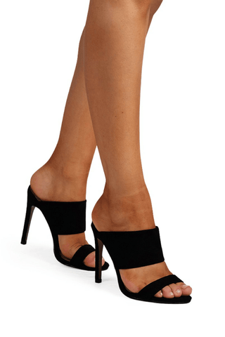 Tatum Black Suede- Billini Shoes