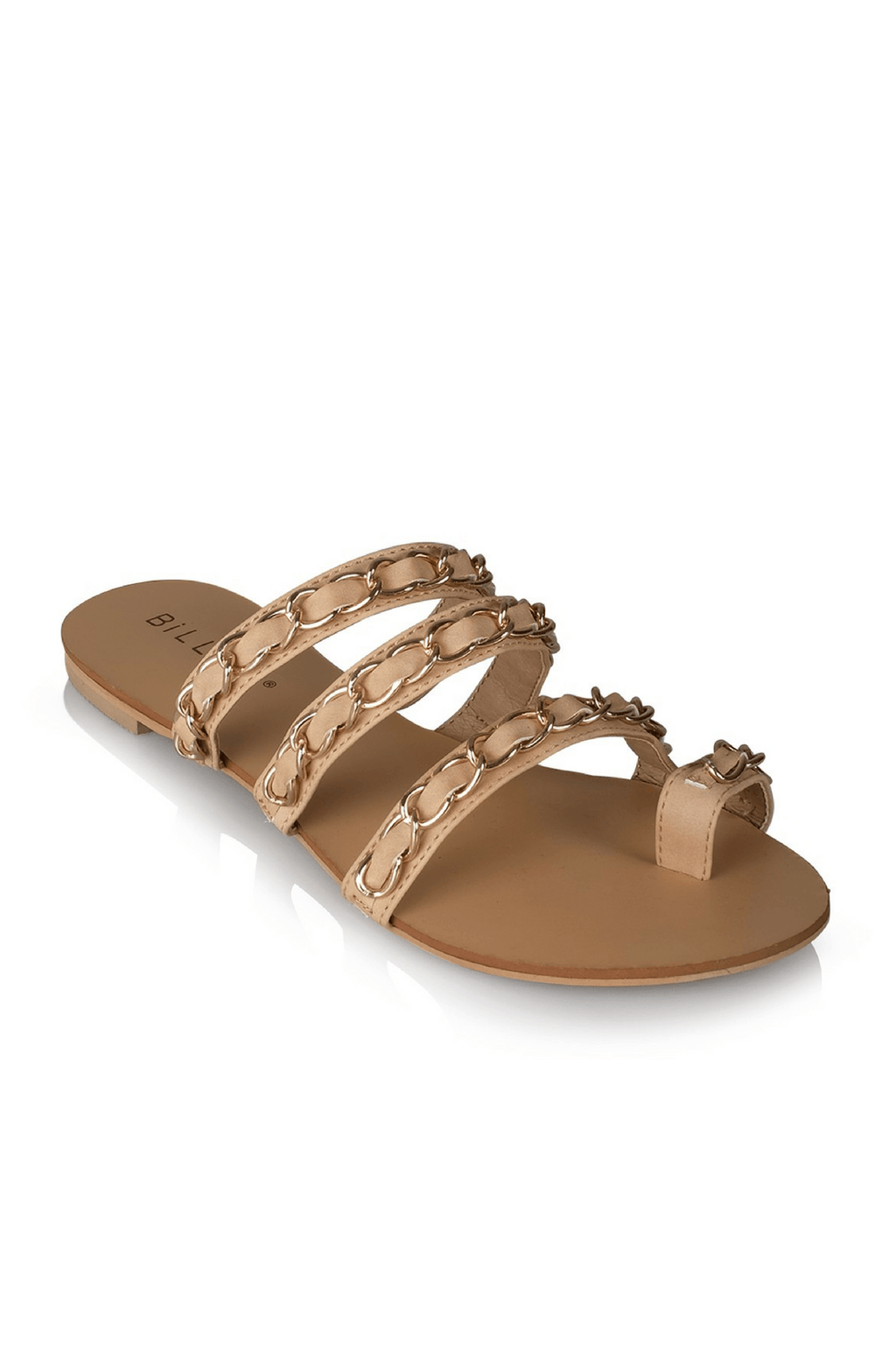 Miah Slides in Nude - Billini Shoes