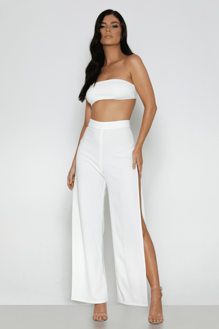Iconic Pants In White