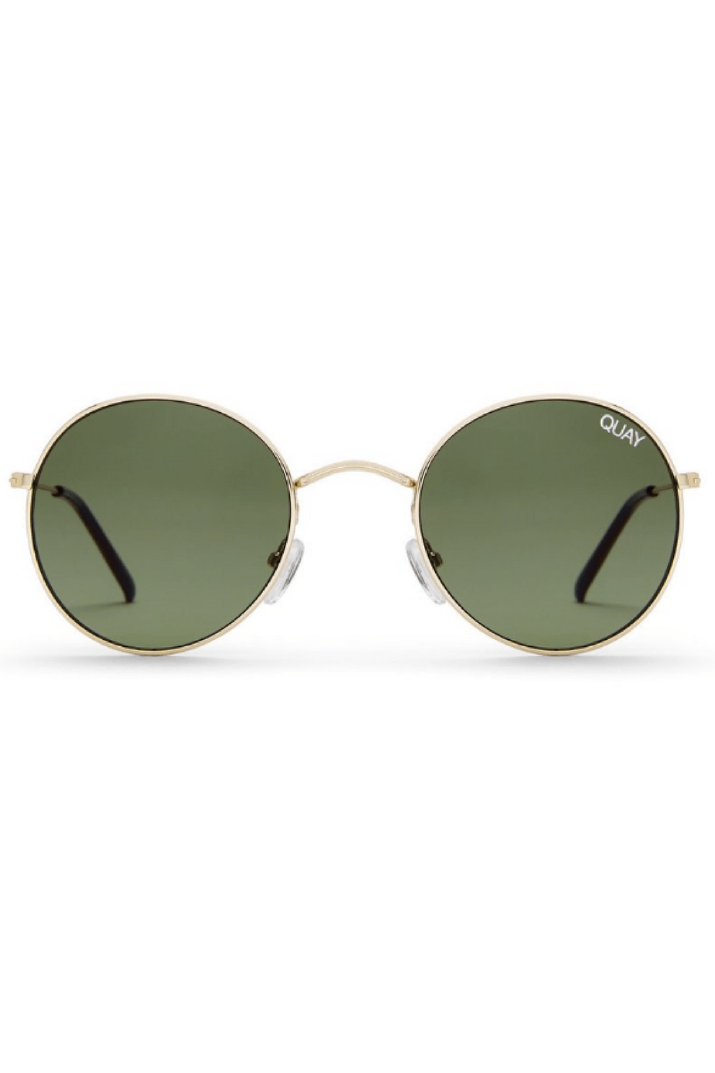 Mod Star Sunglasses in Gold/Green