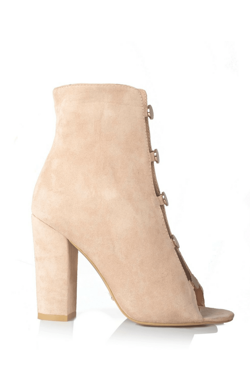 Batista Blush Suede- Billini Shoes