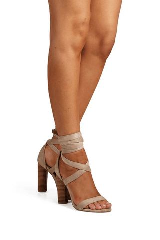 Suki Blush Suede - Billini Shoes