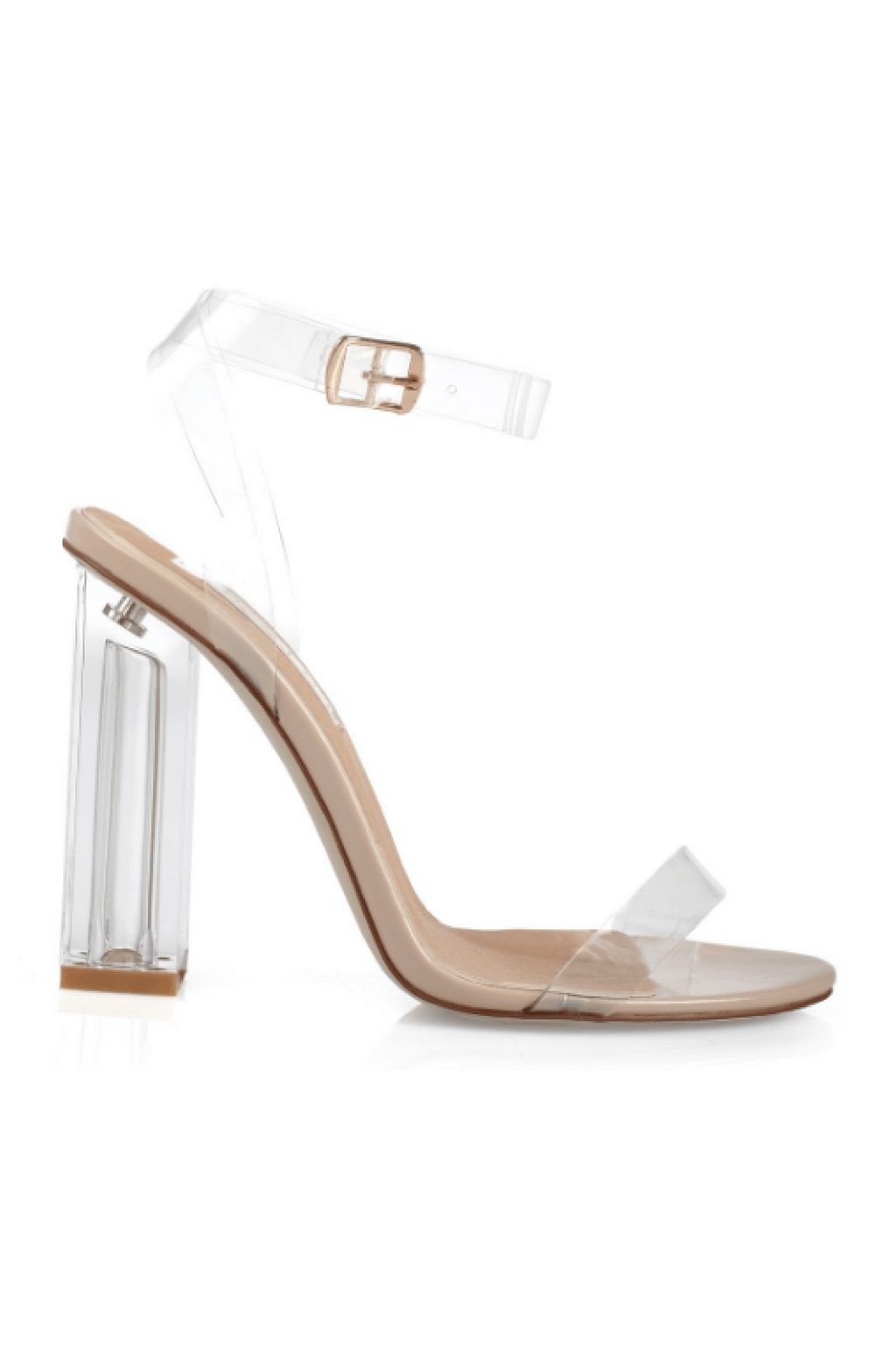 Inca Block Heel Nude - Billini Shoes
