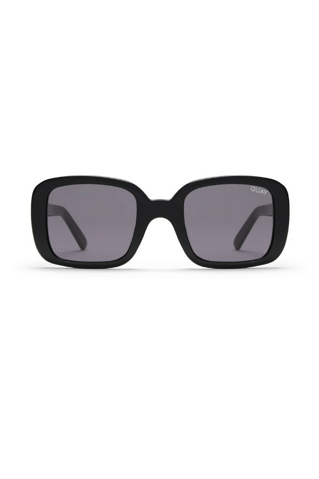 Quay x Kylie 20's Sunglasses in Black/Smoke - QUAY AUSTRALIA