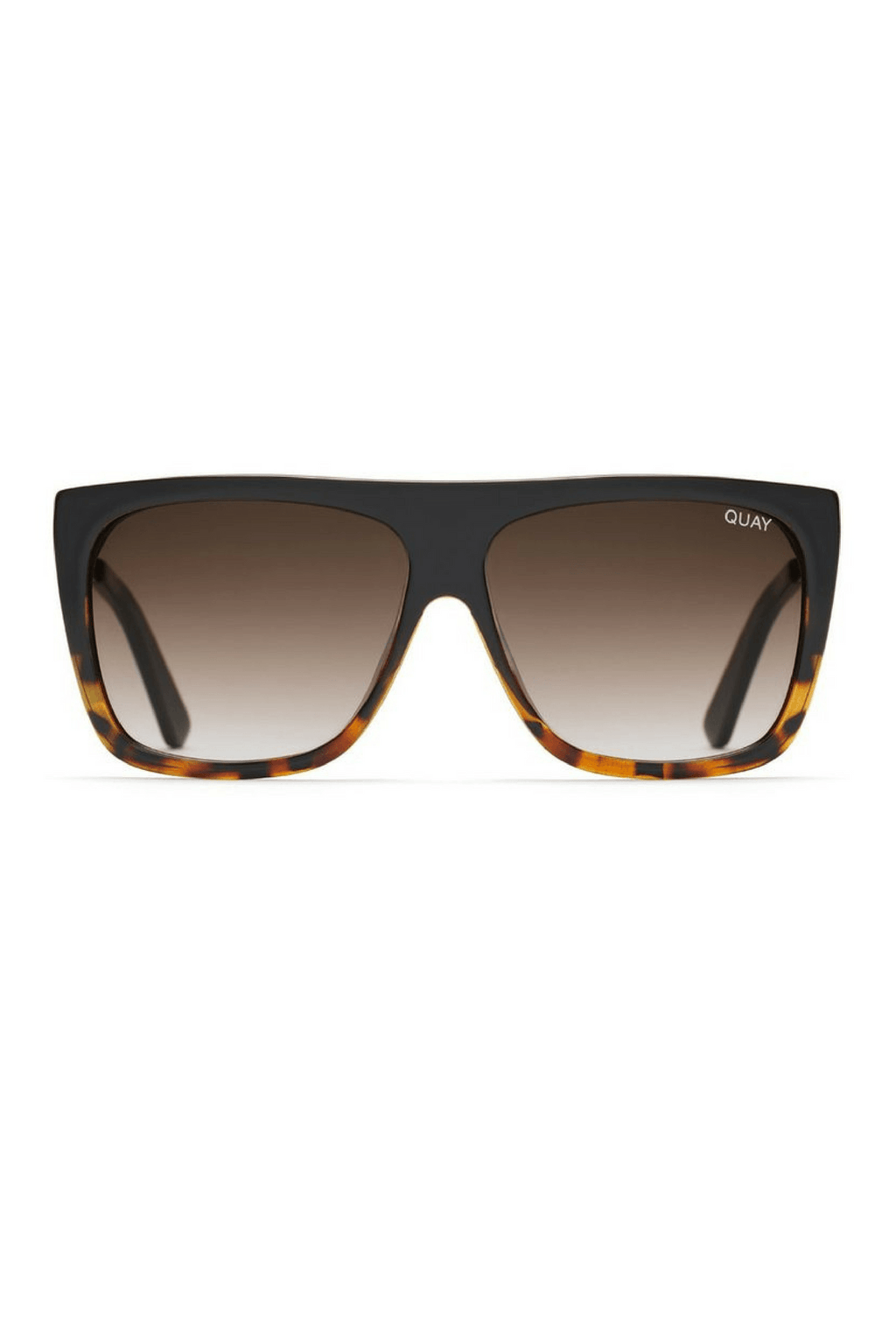 Quay x Desi OTL II Sunglasses in Tort/Brown - QUAY AUSTRALIA