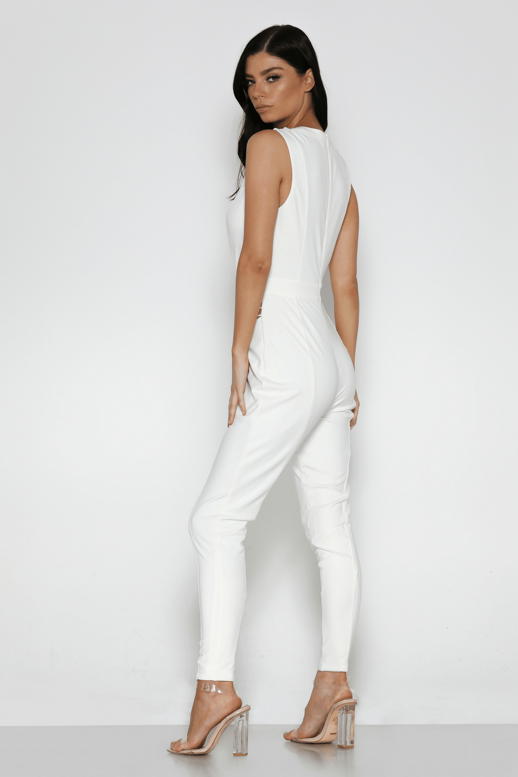 Madison Jumpsuit in White
