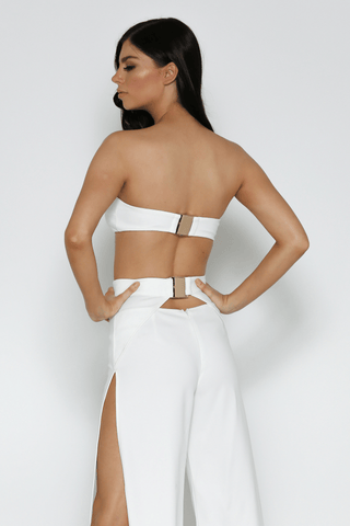 Iconic Bandeau In White