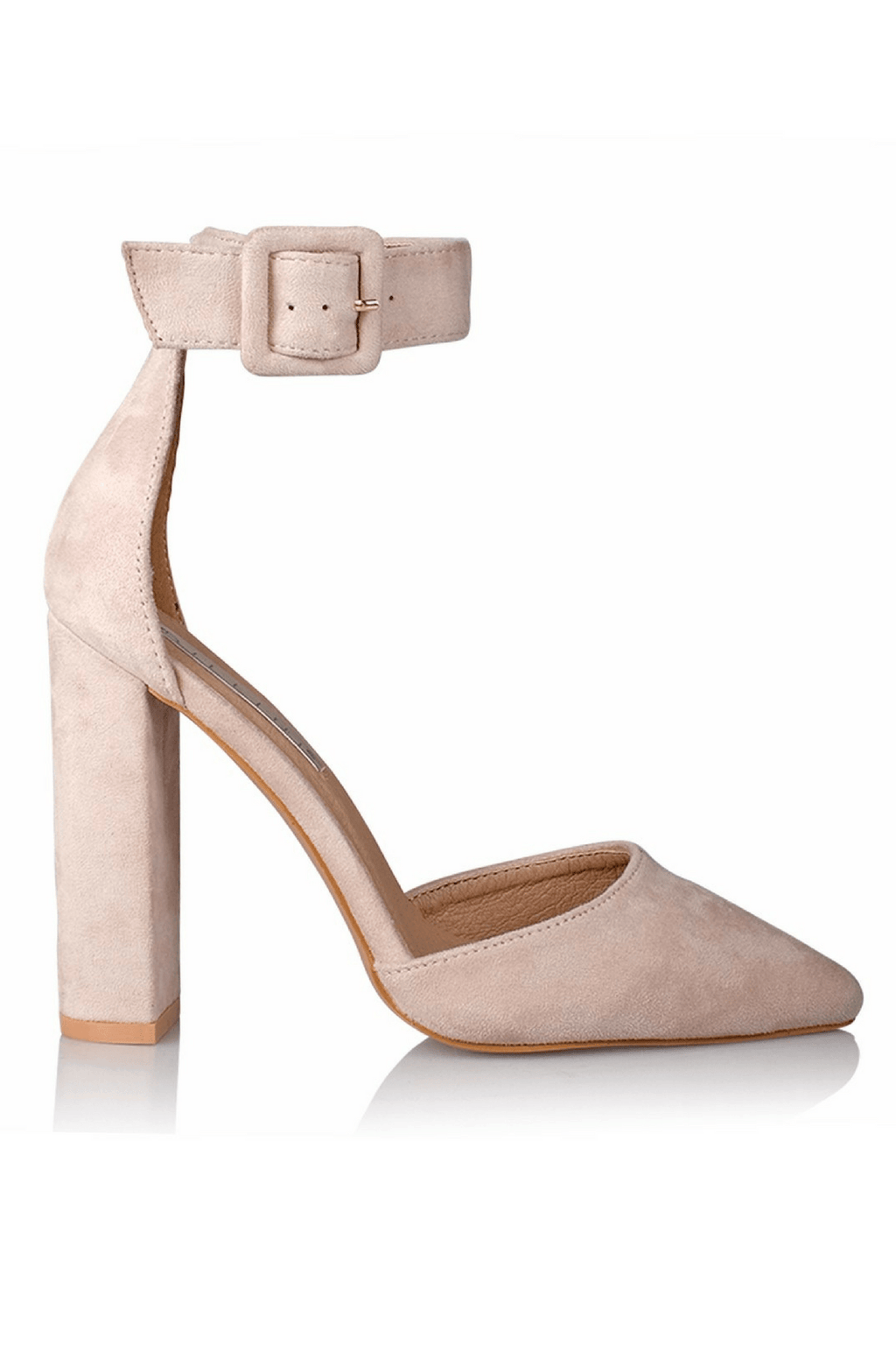 Gracie Heels in Blush - Billini Shoes