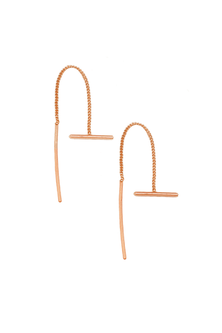 Romee Threaded Bar Earrings