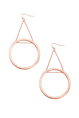 Alessandra Hoop Earrings