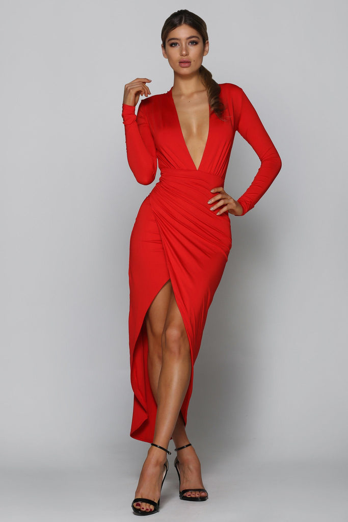 Großartig Valentine Dress Red Bad Af Fashion