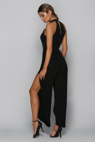 Showstopper Jumpsuit in Black