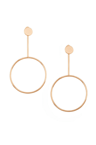 Koko Hoop Earrings - Jolie & Deen